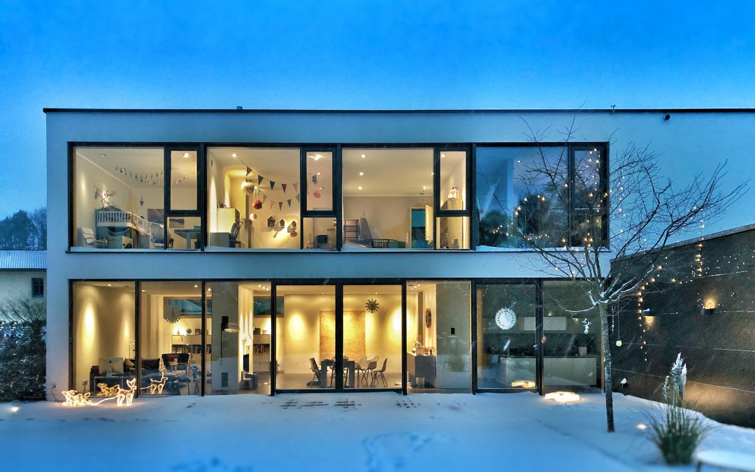 Smart Home, modernes Haus